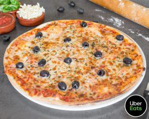 Pizza Marga livrée Simply pizza à Ramonville